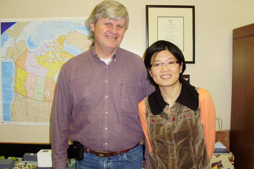 2009 Ed J with Claire Zhao