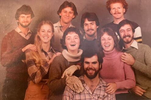 SURP Class of '81 gathered for a photo