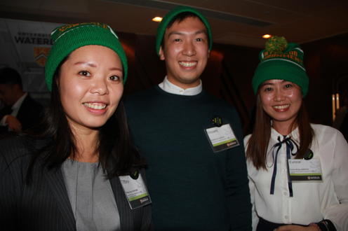 Hope the ENV toques keep our Hong Kong alumni warm – they earned them!