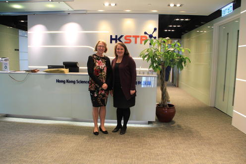 Connecting Environment and HKSTP