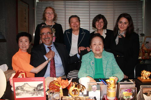 Meeting with our friends in Hong Kong