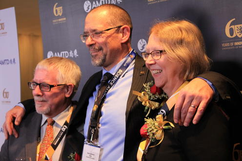 Dean Jean and peers celebrate UW's 60th