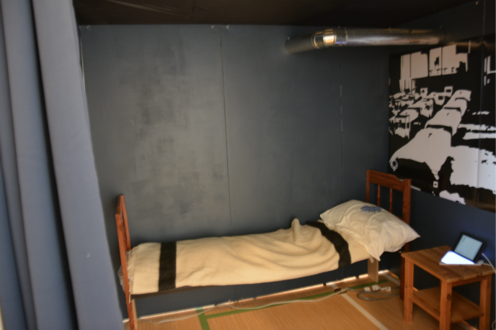 Simulation room at residential school