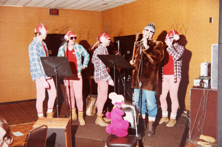 80's Student Band Denny and the Dinos