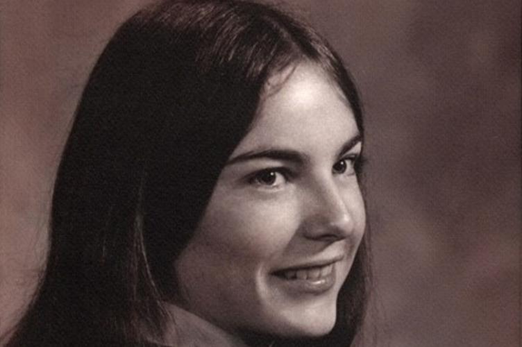 Black and White picture of female student