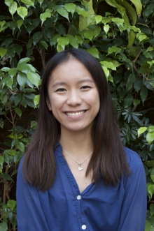 Lena Nguyen, winner of the 2016 Dean of Environment's Scholarship for Excellence