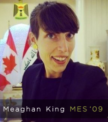 Meaghan King smiling