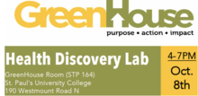 Greenhouse Discovery Lab