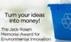 Blue box with text: Turn Your Ideas into Money!