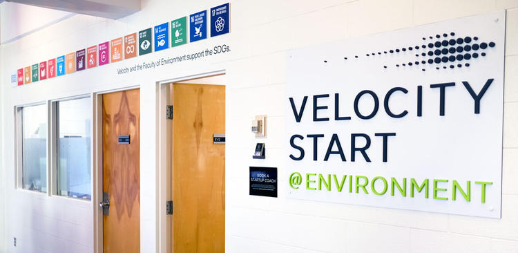 entrance to entrepreneurship at environment office