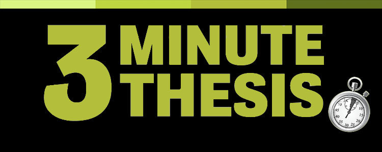 3 Minute Thesis text