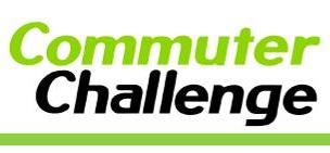 "Logo reading ""Commuter Challenge"""