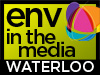 "Logo reading ""env in the media - Waterloo"""