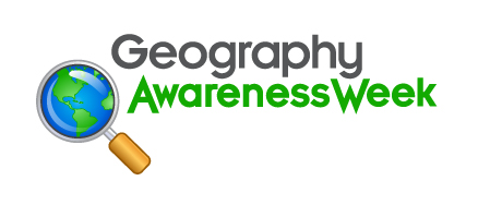 Geography Awareness Week logo.