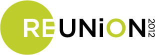 UW Reinion logo, with the words REUNION 2012