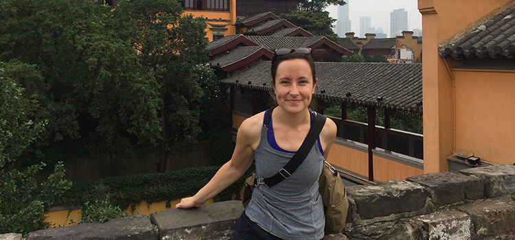 Beth in China