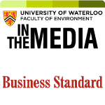 business standard in the media logo