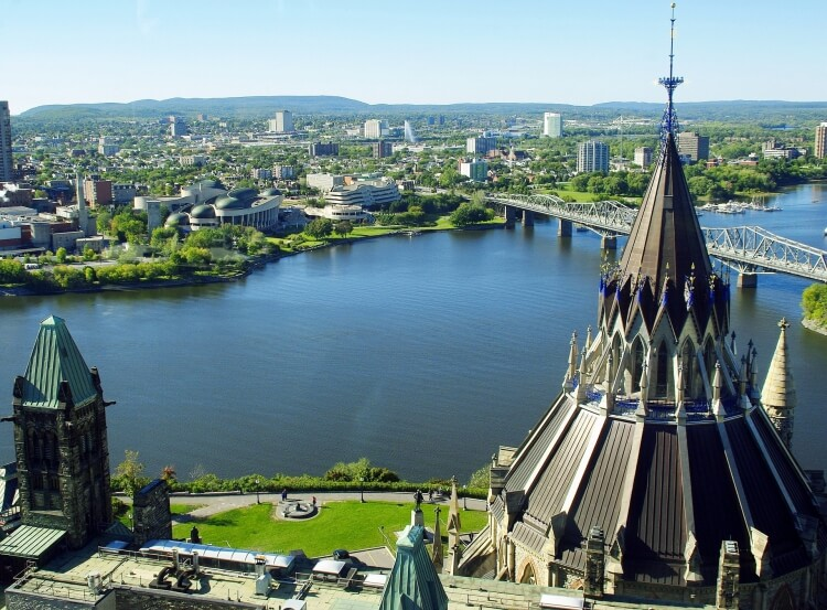 View of Ottawa