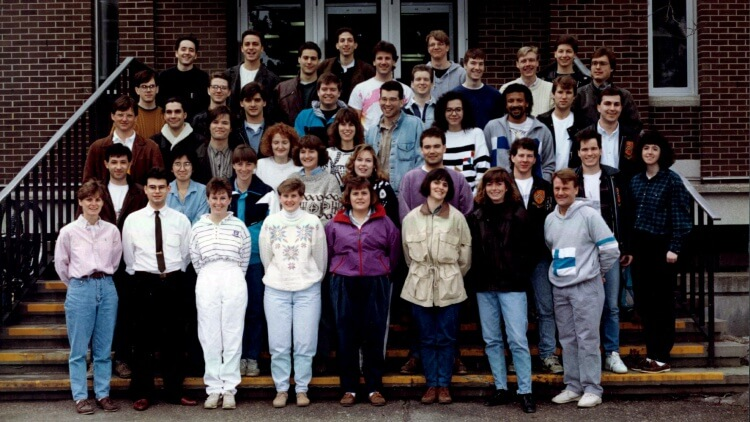 Class photo, Planning 1992