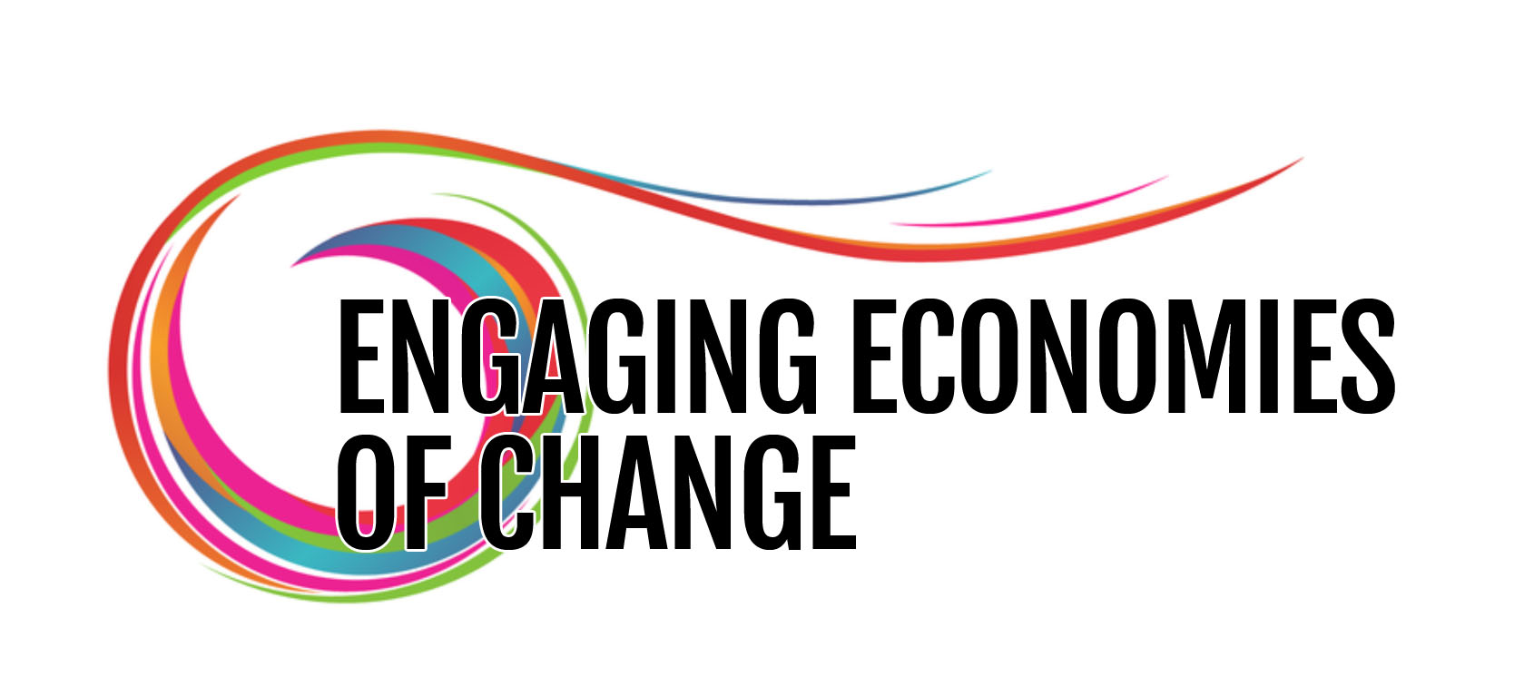 Engaging Economies of Change event logo