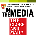 in the media globe and mail logo