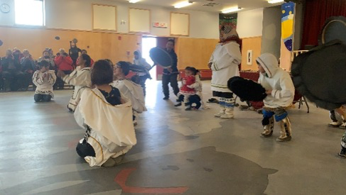 Traditional Inuit Games and Drum Dancing