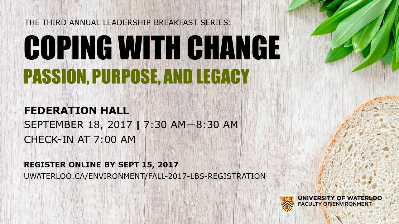 Fall 2017 Leadership Breakfast Series