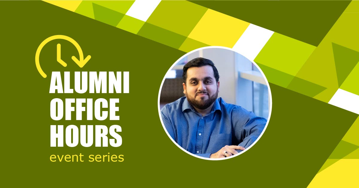 Alumni Office hours event series promo