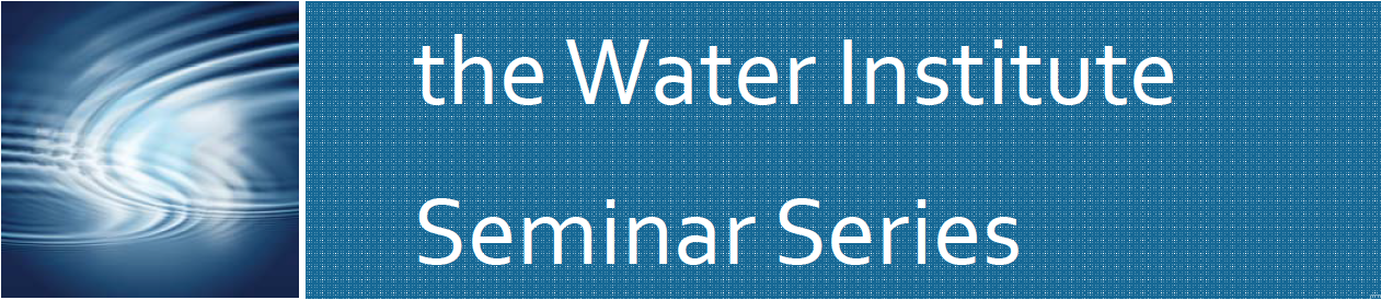 the water institute seminar series