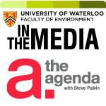 the agenda in the media logo