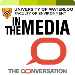in the media the conversation logo