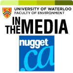 the nugget in the media logo
