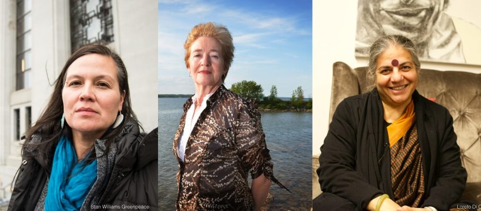 Chief Leslee White-Eye, Maude Barlow and Dr. Shiv Chopra