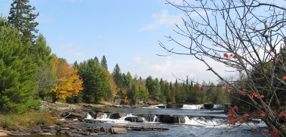 River with rapids