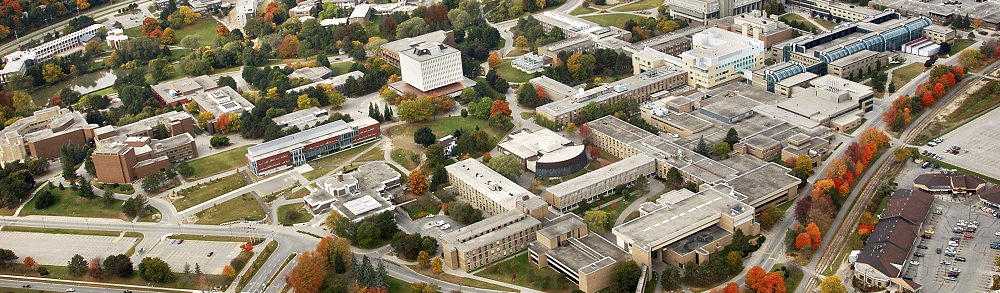 University of Waterloo from above