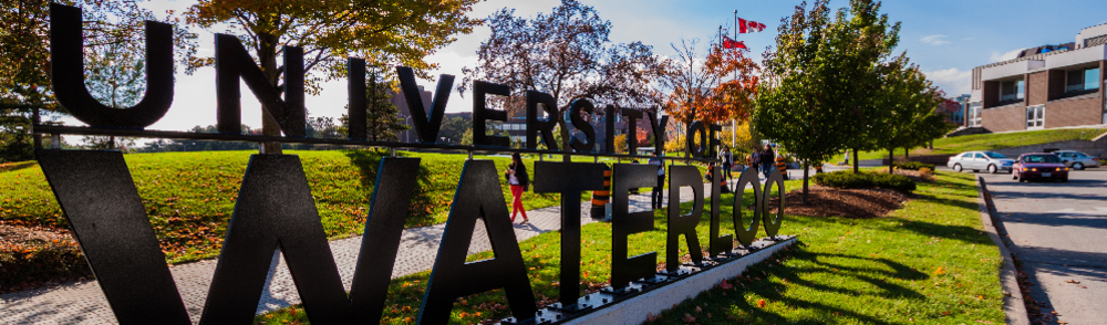 University of Waterloo South Campus entrance
