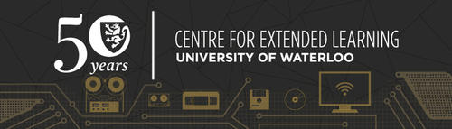 Centre For Extended Learning 50th Anniversary Banner