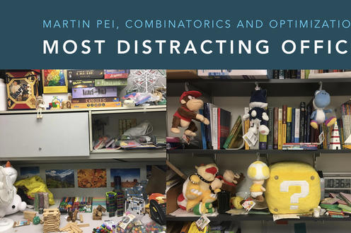 Martin Pei, Most Distracting Office