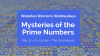W3: Mysteries of the Prime Numbers