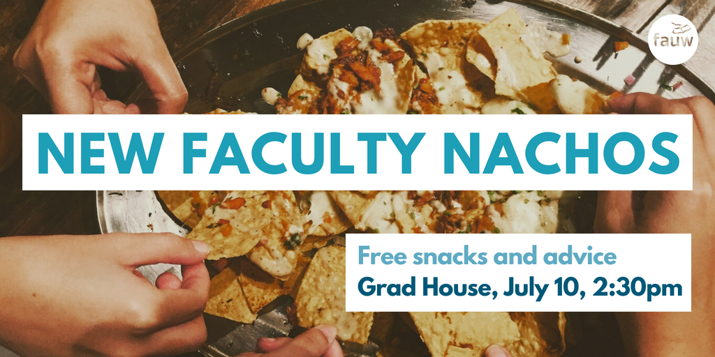 New faculty nachos