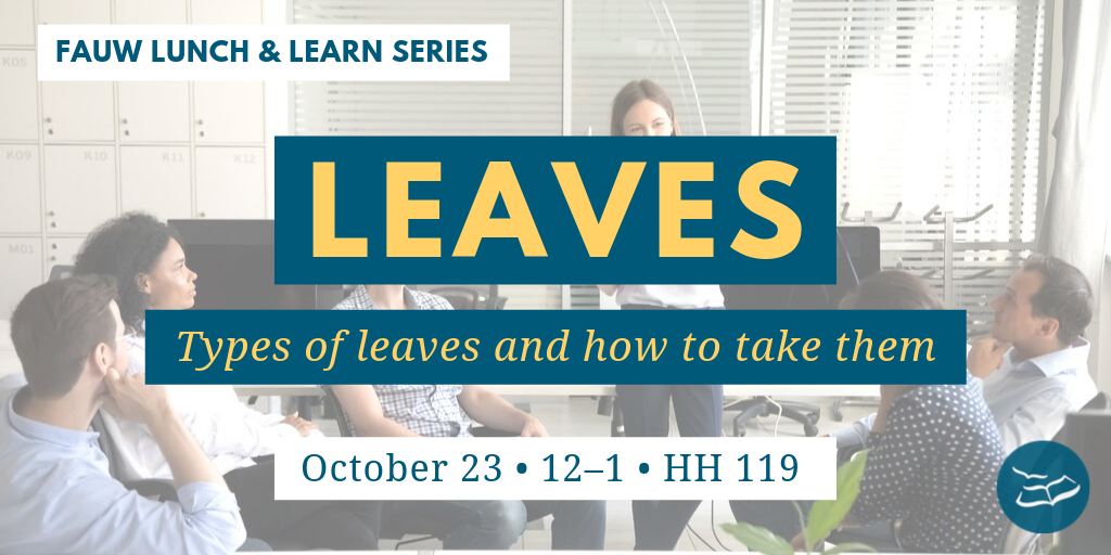 Types of leaves for faculty and how to take them