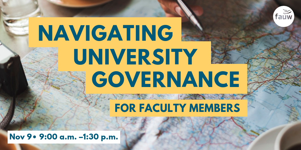 Navigating University Governance for Faculty Members