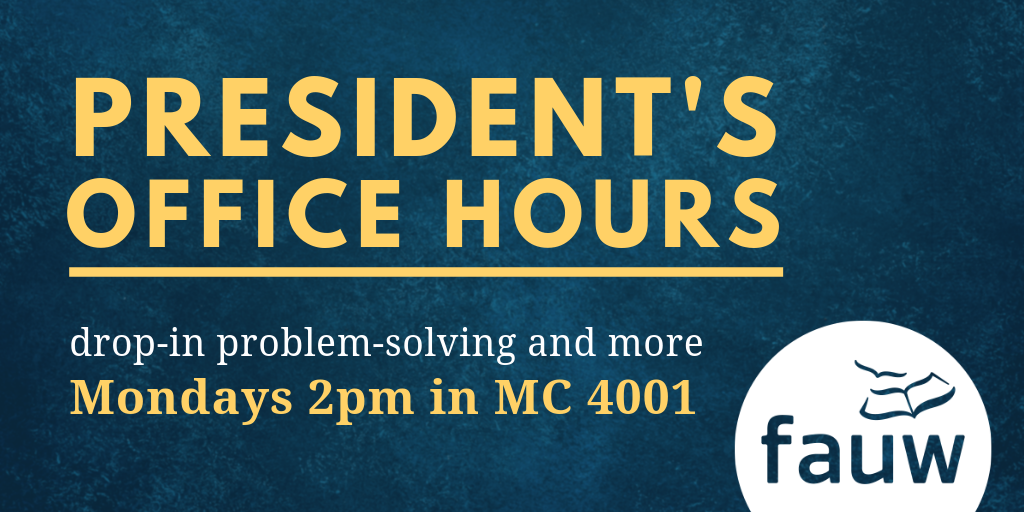 Drop-in problem-solving and more, Mondays at 2 in MC4001