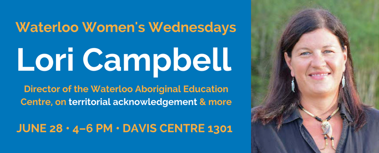 Waterloo Women's Wednesdays June 28: Lori Campbell