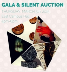 Gala and silent auction poster