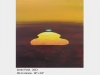 "Artwork by David Blatherwick. Green Flash. 2013. Oil on canvas. 18"" x 18"""