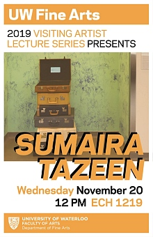 Poster for Sumaira Tazeen's talk