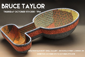 Bruce Taylor exhibition poster