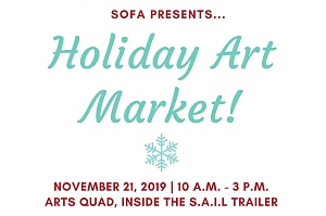 Sofa holiday art market