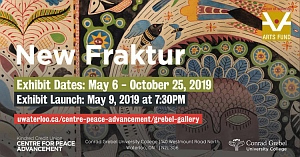 Meg Harder exhibition titled New Fraktur
